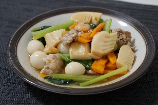 野菜たっぷりの八宝菜
